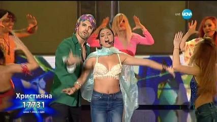 Християна Лоизу - Jai Ho - X Factor Live (17.11.2015)