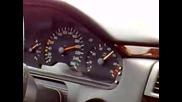 Mercedes E 320 Ускорява От 140 До 200