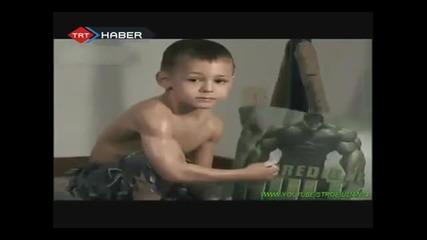 най-силното дете на света
