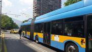Тролей Skoda27tr Solaris в София