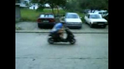 Супер Бърз Scooter peugeot 90cc