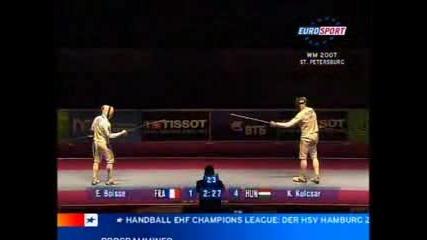 Mens Epée Final St.Petersburg 2007 bout 1