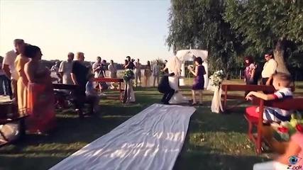 Сватбата на Милен и Мария - видеозаснемане студио