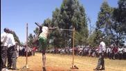 Няма да повярвате колко могат да скачат тези кенийци! Тези са за олимпийските игри!