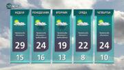 Прогноза за времето на NOVA NEWS (01.05.2021 -14:00)