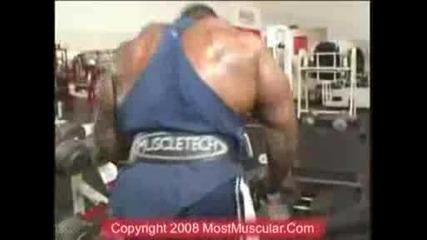 Ifbb Pro Bodybuilder Johnnie Jackson training