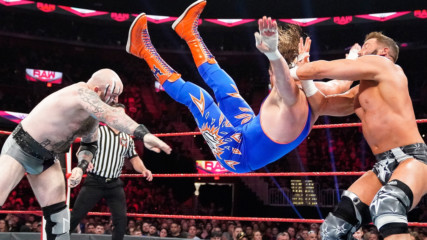 The Viking Raiders vs. Curt Hawkins & Zack Ryder: Raw, Oct. 21, 2019