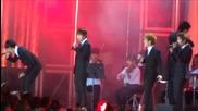 140928 B.a.p Daehyun, Btob Eunkwang, Vixx Leo & Got7 Youngjae - Mirotic Cover Hallyu Dream Festival
