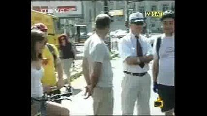 Господари на ефира - Министарът си кара колелото вкъщи