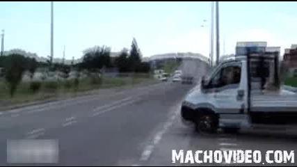 Zonda R по обществени пътища