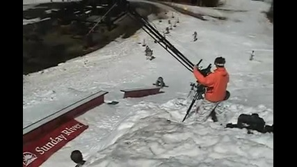 сноубордист се пребива