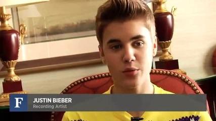 Justin Bieber Budding Venture Capitalist