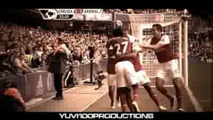 Челси - Арсенал 3 - 5 Ван Перси