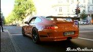 Така се потегля с Porsche на светофар !