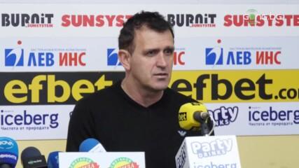 Акрапович: Доволен съм от подготовката в Турция, ще се борим с Лудогорец