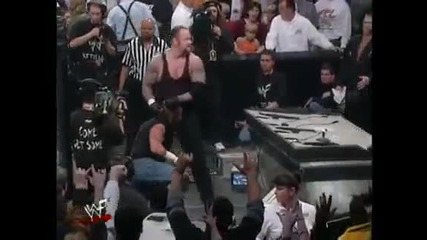 Една от най - бързите победи на Гробаря - The Undertaker vs Raven (hardcore Championship) | H Q |