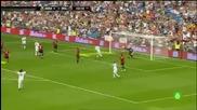 Реал (мадрид) и Милан сътвориха спектакъл в благотворителен мач срещу инфаркта