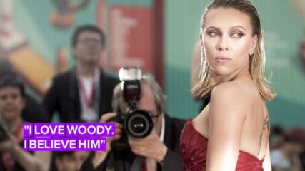 Scarlett Johansson's latest political gaffe: defending Woody Allen