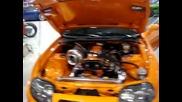 Ebrahim Kanoo_s Orange Supra testing Overrun After Burn