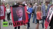 Ukraine: Odessa blaze victims remembered in Kiev on first anniversary