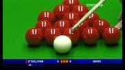 Snooker - Няколко поредни рестартирания във фрейм от Рони ОСиливан и Стив Дейвис