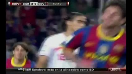Fc Barcelona Vs Sevilla 5 - 0 30.10.10