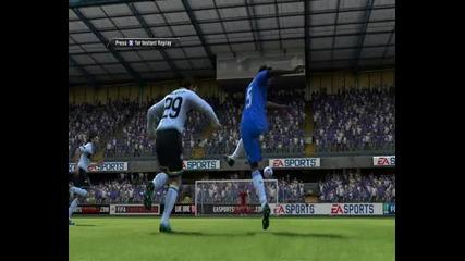 Красива бразилка на Essien от 30 метра / Fifa 11