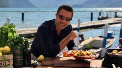Печени сардини със салата от домати и босилек | Италиански експрес с Джино | 24Kitchen Bulgaria