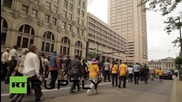 Обединени религиозни лидери протестират против полицейското насилие в Кливланд
