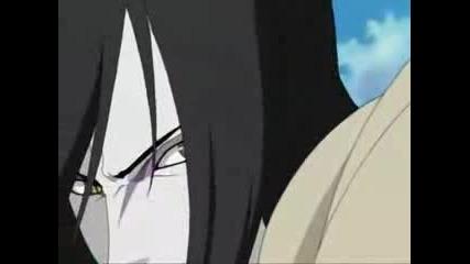 Kyuubi Vs Orochimaru