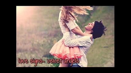love signs- velvet angels