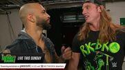 The Miz & John Morrison douse Ricochet & Riddle with Drip Sticks: Raw, July 12, 2021