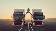 Жан-клод Ван Дам в яка реклама на Volvo