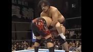 G1 CLIMAX Hiroyoshi Tenzan vs. Hirooki Goto 08/13/08