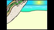 Naruto Summer Surfing U.s.a!!!