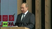 Italy: Putin opens 'Russia Day' at Expo Milano 2015