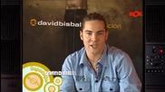 David Bisbal Entrevista 2006 / C D Premonicion