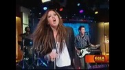 Ashley Tisdale on Good Morning America