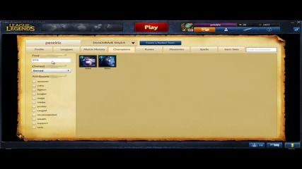 League of Legends Selling Account