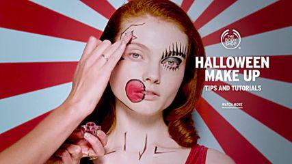 Pop Art Spotty Eye Halloween Make-up Tutorial The Body Shop