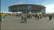 Хиляди колумбийци заляха столицата Бразилия