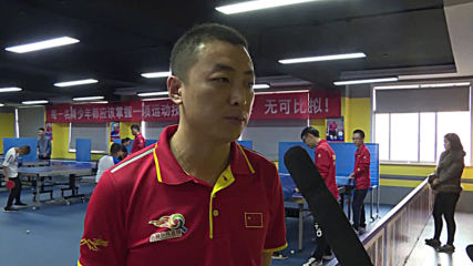 Viral crying ping-pong prodigy regains stiff upper lip