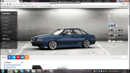 Svm Tuning - Audi 80 Rs2