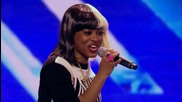 The X Factor Uk 2013 - Relley C sings Blind Faith by Chase & Status - Arena Auditions Week 2