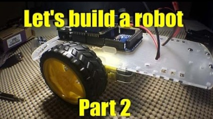 let's build a robot part 2