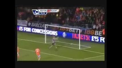 Мартин Петров със гол срещу Блекпул