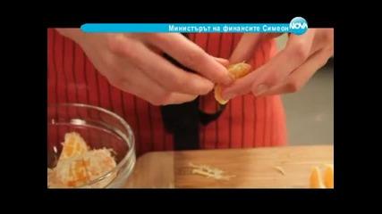 Содени питки с маслини, заек в горчичен сос, царевичен кейк с праз и сирене - Бон Апети(18.02.2013)