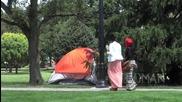 Секс в палатката - Шега!