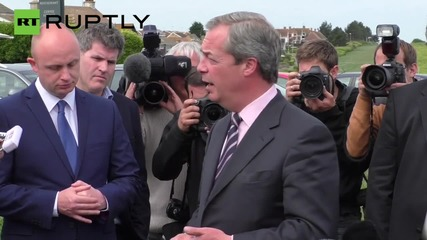 Nigel Farage resigns after failing to secure South Thanet seat