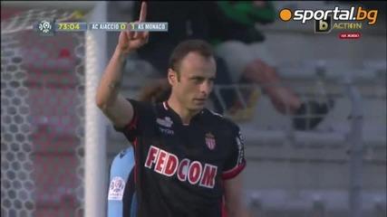 26.04 Два гола на Димитър Бербатов – Аячо - Монако 1-4